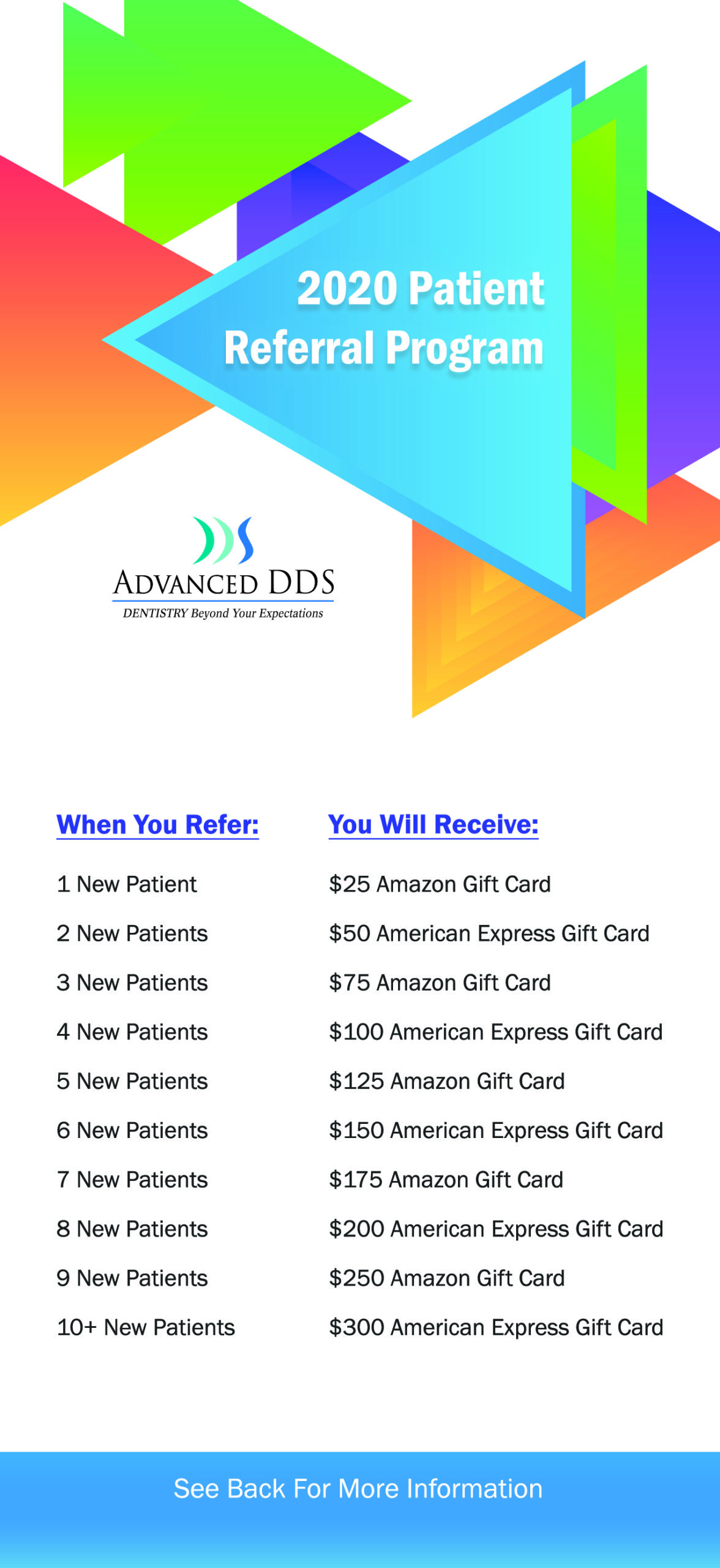 Referral Program Flyer Front 4x9